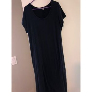 GAP Navy Maxi Dress